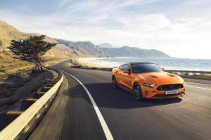 Ford esittelee Mustangin 55-vuotisjuhlavuoden kunniaksi Mustang55 5.0 V8