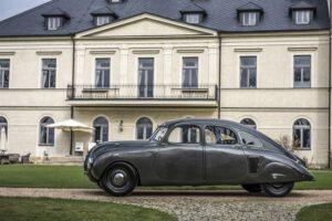 ŠKODA 935 DYNAMIC, virtaviivainen jo 85 vuotta sitten